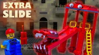 LEGO мультфильм ГОРКА-ПОЖИРАТЕЛЬ/ EXTRA SLIDE stop motion