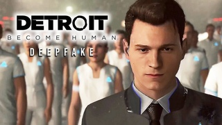 Tom Holland in Detroit: Become Human [Deepfake]