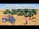 🇦🇺 AUSTRALIA ROAD-TRIP : Moisson XXL avec la TEAM John Deere 🤠