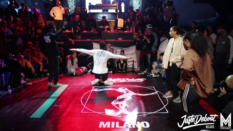 Juste Debout Italy 2019 - Hip Hop final LINSDAY MELS -FRA vs DYKENS ZYKO -FRA WINNERS