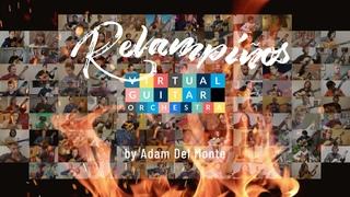 """Virtual Guitar Orchestra performs """"Relampiños"""" by Adam Del Monte"""