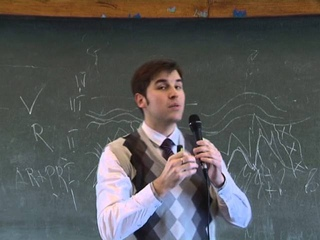 Доклад Дмитрия Мамонтова на фестивале науки в МГУ