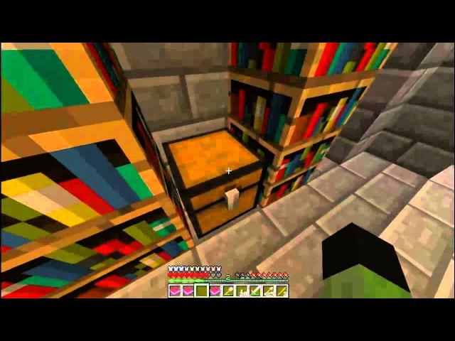 Прохождение карты в Minecraft Сокровище нации 1