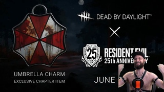 Resident Evil x Dead by Daylight reaction