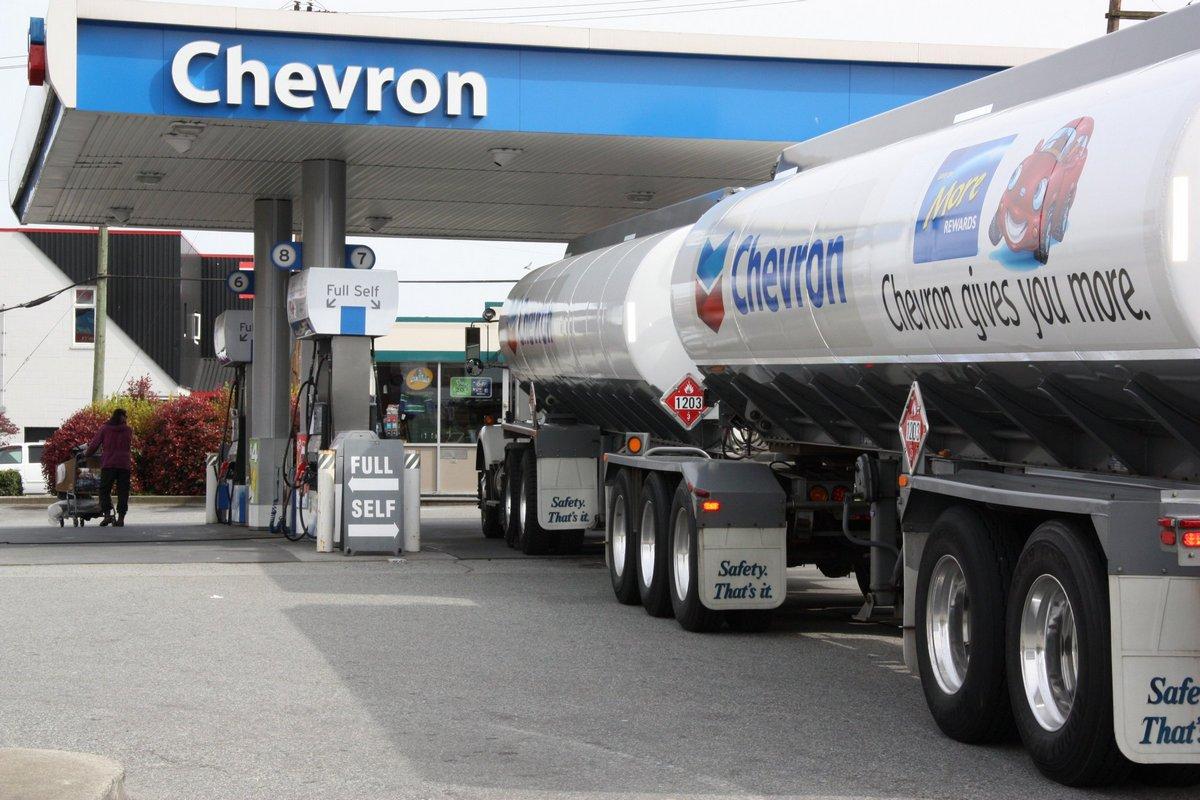 Смазочные материалы американского бренда Chevron