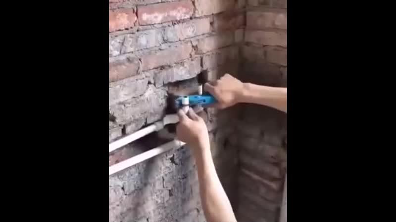 В кирпичной стене - Строим дом своими руками