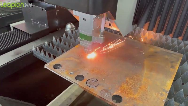 Fiber Laser Cutting Machine Limit Cut Test 1500w 12mm carbon steel