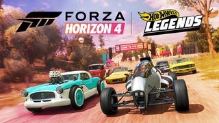 Дополнение «Легенды Hot Wheels» для игры Forza Horizon 4!