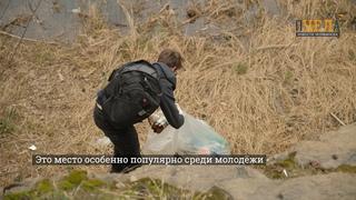 Челябинская молодёжь вышла на субботник в городском бору
