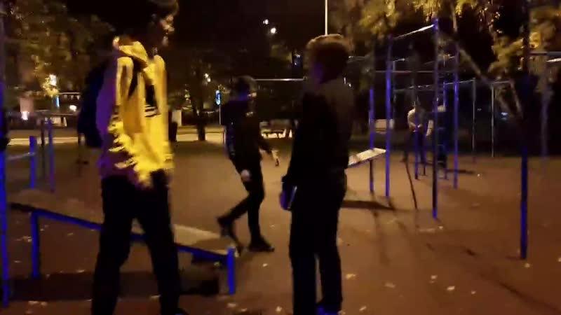 рокеры напали