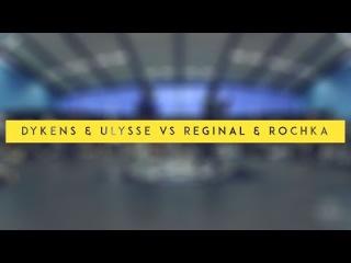 Dykens & Ulysse VS Regil & Rochka | 1/4 Hip Hop | WGTP 2014