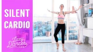 Apartment Friendly Ballet Cardio Workout - So Quiet!