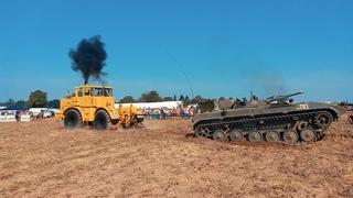 Кто перетянет? Мощный советский трактор К-700 КИРОВЕЦ против ВСЕХ!!!