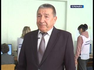 ТК Родной  Второй день выборов в Госдуму России в Первомайске  18 09 2021