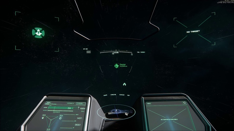Star Citizen 3 0 Fly to Daymar without Quantum timelapse better quality