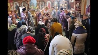 Проповедь Преосвященнейшего епископа Алексия в последний перед Пасхой день поминовения умерших