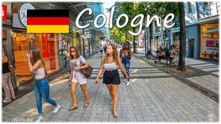 🇩🇪 Cologne City Walking Tour 🏙 4K Walk During Corona Pandemic ☀️ Germany 🇩🇪 (Sunny Day)