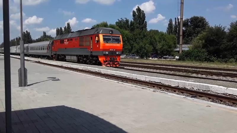 1 год каналу Поезда на станции Нижнегорская
