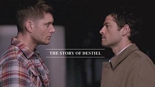 The Story of Destiel [15x18 spoilers!]
