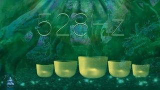 528 Hz Love Frequency Positive Energy Crystal Singing Bowls   Self Love Meditation Sound Bath