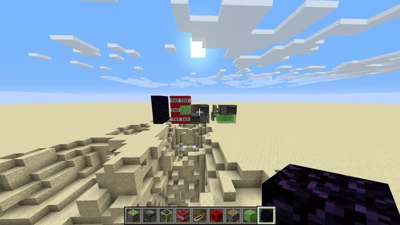 Self Saving TNT Missile