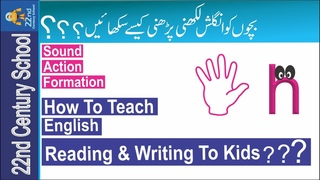 Learn English To Kids-English Alphabet Letter-How To Teach English To Beginners