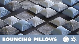 Cinema 4D Tutorial - Bouncing Pillows