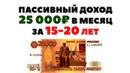 🤑📈Пассивный доход 25000 рублей в месяц. Как получать пассивный доход с дивидендов?