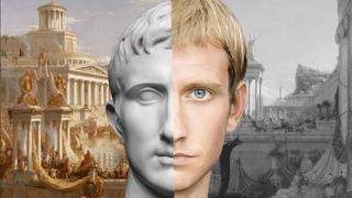 Взгляд из прошлого: ожившие при помощи нейросетей скульптурные портреты римских императоров