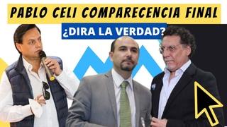 """Llego el DÍA PABLO CELI """"Soy INOCENTE es culpa de Correa"""" comparecencia en el J. POLÍTICO"""