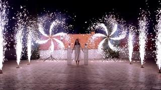 Пиротехнические вертушки на праздник в Ростове | GOF show
