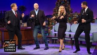 John Travolta Takes Us to 'Pulp Fiction' Dance Class