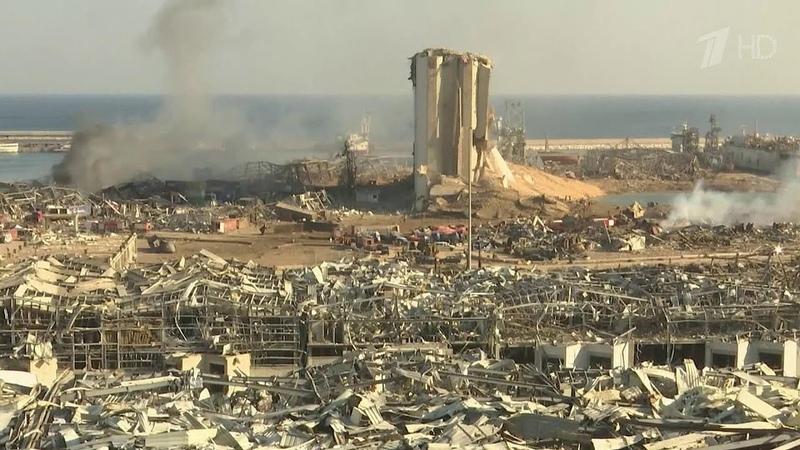 Взрыв в Бейруте сравнял с землей половину города 300 тысяч жителей остались без крыши над головой