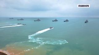 Масштабные учения Минобороны в Крыму. Лучшие кадры с воздуха