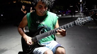 Arpeggios at the Speed of Light - EPIC SHRED - Damian Salazar - ON THE STREET
