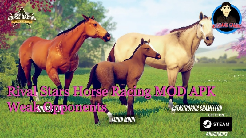 Rival Stars Horse Racing MOD APK | Weak Opponents iOS Android