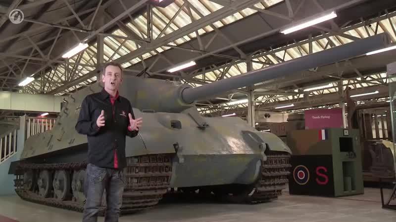 Рассмотри Jagdtiger В командирской рубке
