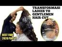 The best FADE part 2 /2020 tranformasi lady / gentelman haircut