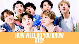 BTS QUIZ    CAN YOU GET ALL THE QUESTIONS RIGHT??