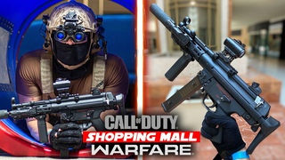 Airsoft Abandoned Shopping Mall MP5 Gameplay!