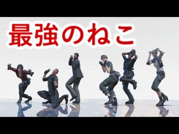 【バイオ】キレッキレな猫たちが「エンヴィキャットウォーク」を踊る