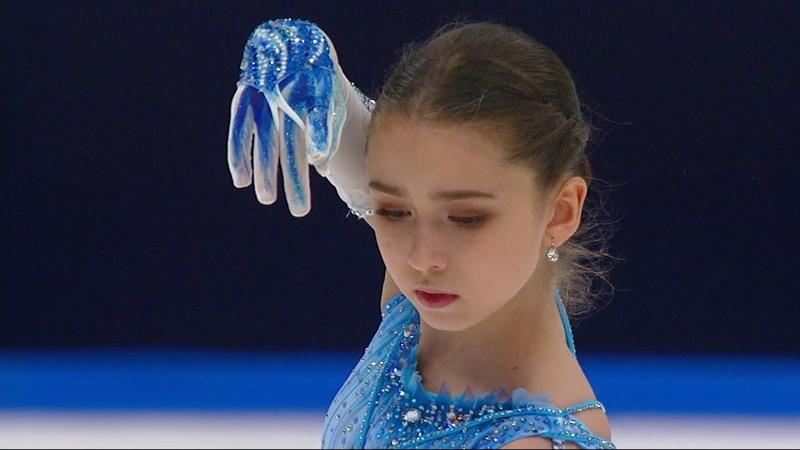 Камила Валиева Короткая программа Кубок России по фигурному катанию 2020 21 Второй этап