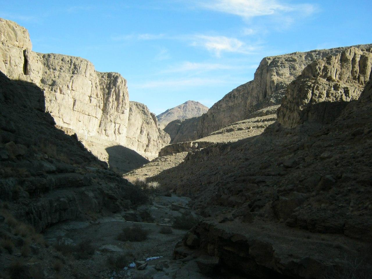 ущелье близ Язд