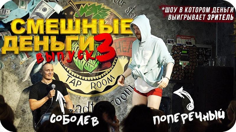Поперечный и Соболев вырубили пьяную хеклершу смешные деньги 3