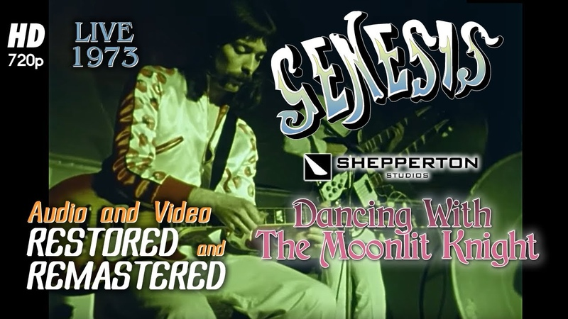 Genesis Dancing With The Moonlit Knight Live at Shepperton Studios 1973 Remastered