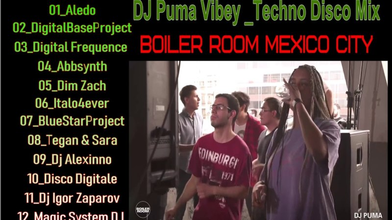 Teaser by DJ Puma Vibey Techno Mix ¦ Boiler Room Mexico City