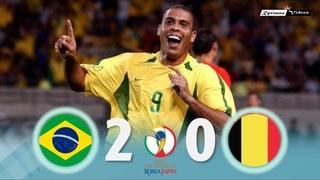 Brasil 2 x 0 Belgium ● 2002 World Cup Extended Goals & Highlights HD