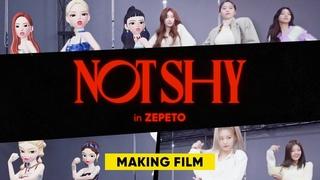 The secret of ZEPETO MV making🤫 ZEPETO ✕ ITZY❤️'NOTSHY' Making Film🎬