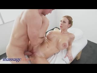 Big Tits Blonde MILF Nathaly Cherie Served a Creampie