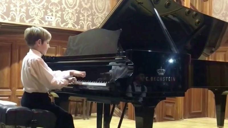 Sergio Marogno Iskakov Three pieces for piano Серхио Мароньо Искаков Три пьесы для фортепиано